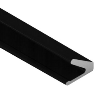 Tochtprofiel zwart Q-Lon 3121 zelfklevend, rol a 7 meter